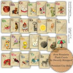 sweetly scrapped free printable abc flash cards