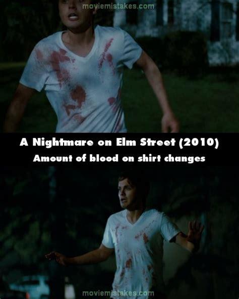 nightmare  elm street   mistakes goofs