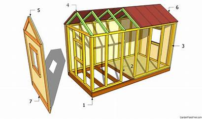 Playhouse Garden Building Plans Build Play Pallets