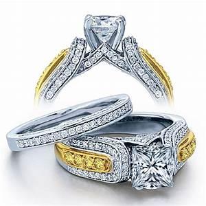 Huge white gold diamond rings wedding promise diamond for Huge wedding rings for women