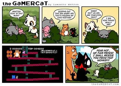 Gamercat Funny Cat Comics Thegamercat Gifs Gamer