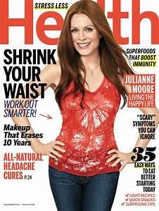 Julianne Moore - Health Magazine November 2013