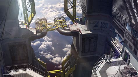 factories, Science fiction, Futuristic, Sky HD Wallpapers ...