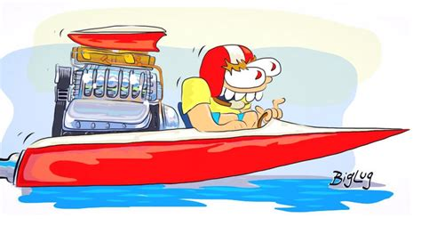 Boat Ride Cartoon by Creekrat Boat Cartoons