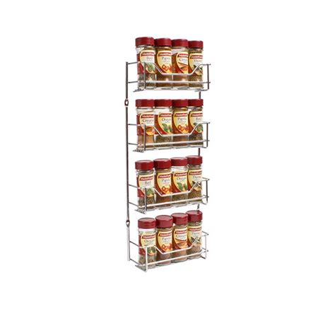 Tier Spice Rack by D Line 4 Tier Spice Rack 44x19cm Fast Shipping