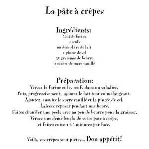 crepe recette