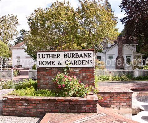 Burbank Gardens by Luther Burbank House And Garden Usa Gardens Parks