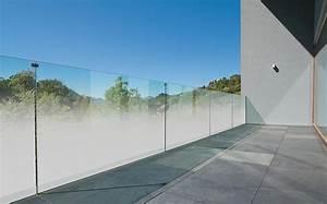 Glas Balkongeländer Rahmenlos : teilsatiniertes madras nuvola jetzt auch f r balkongel nder aus glas ~ Frokenaadalensverden.com Haus und Dekorationen