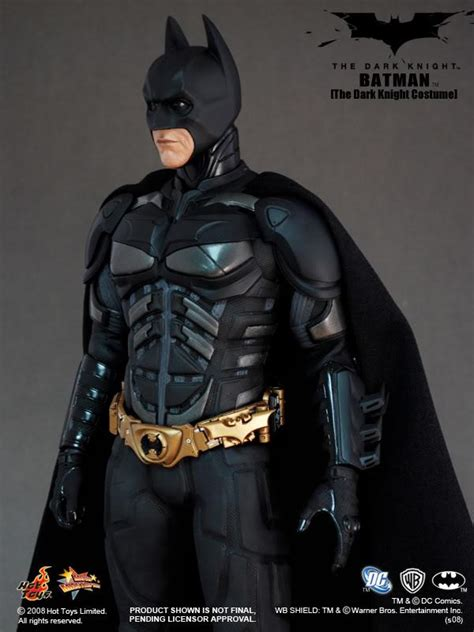 hot toys  dark knight batman  dark knight costume