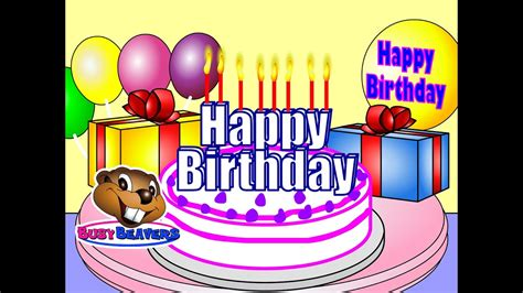 quot happy birthday quot clip learn teach children 472 | maxresdefault