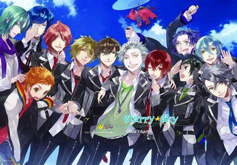 Starry Sky Anime Wallpaper - anime guys images starry sky hd wallpaper and background