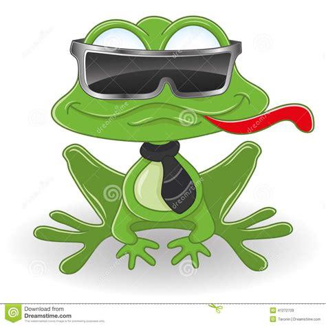 cartoon frog stock vector image