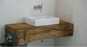 Waschtischunterschrank Für Aufsatzwaschbecken Holz : bad waschtisch holz jid bad pinterest ~ Bigdaddyawards.com Haus und Dekorationen
