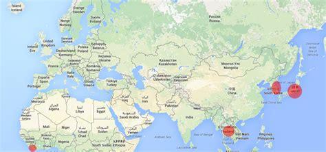 Thailande Dans La Carte Du Monde by Voici Les Cinq Pays Qui N Ont Jamais 233 T 233 Colonis 233 S Ou