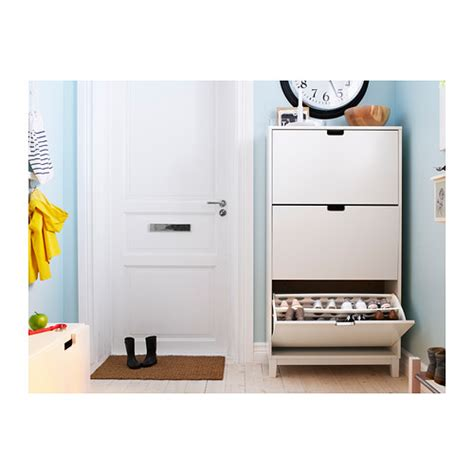 ikea stall shoe cabinet uk st 196 ll shoe cabinet with 3 compartments white cabinets