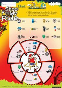 Shop For My Ride Math Worksheet For Grade 2