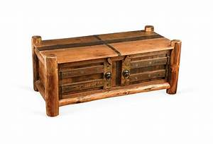 cabin style coffee tables one kings lane real cabin With log cabin style coffee tables