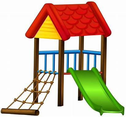 Slide Clip Playground Clipart Transparent Roof Drawing