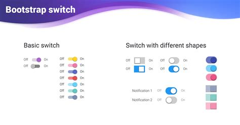 bootstrap switch toggle examples tutorial basic