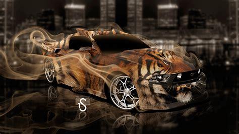 Ford Mustang Fantasy Smoke Tiger 2013  El Tony