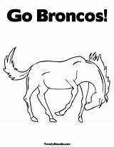 Broncos Denver Coloring Pages Printable Drawing Mascot Colouring Popular Print Getcolorings Getdrawings Coloringhome Comments sketch template