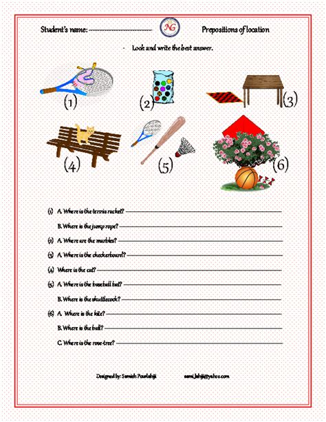 429 free preposition worksheets teach prepositions with