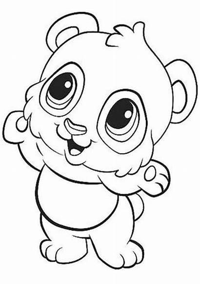 Coloring Panda Printable Tulamama Easy Sheets Preschool