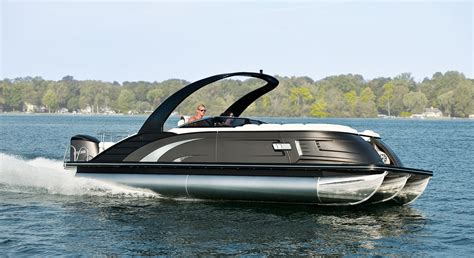 Boat Bumpers Near Me by Qx25 Fiberglass Pontoon Boats By Bennington