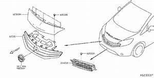 Nissan Versa Note Radiator Shutter