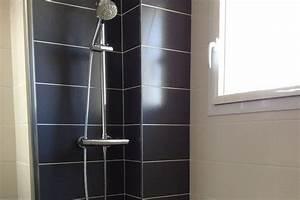 baguette alu carrelage obasinccom With finition de salle de bain