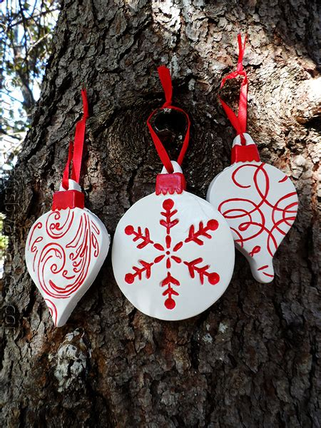 scandinavian plaster ornaments crafts by amanda