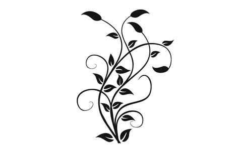 Muster Blumenranke Einfach blumenranke wandtattoo bilder motive wandtattoos
