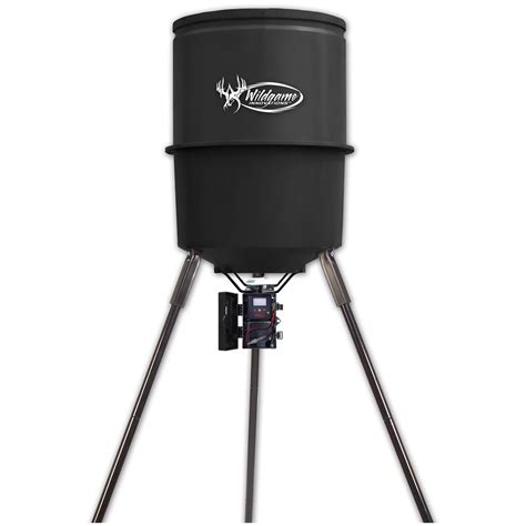wildgame innovations feeder timer wildgame innovations 30 gal tripod feeder 157809