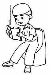 Anak Muslim Sketsa Gambar Mewarnai Kartun Mengaji Coloring Sketch Berdoa Pesawat Terlengkap Sketchite Kursi Template Binatang Hewan Kumpulan sketch template