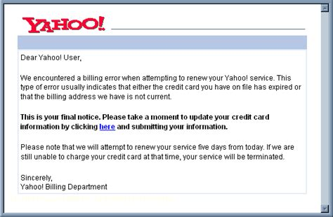 Another Phishing Scam Is Targeting Yahoo Userssecurity Affairs