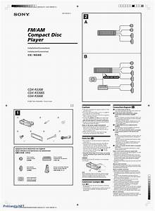 Wiring Diagram For Sony Xplod Cdx L600x