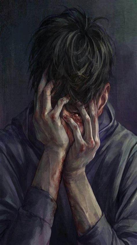 Sad Anime Boys Wallpapers Wallpaper Cave