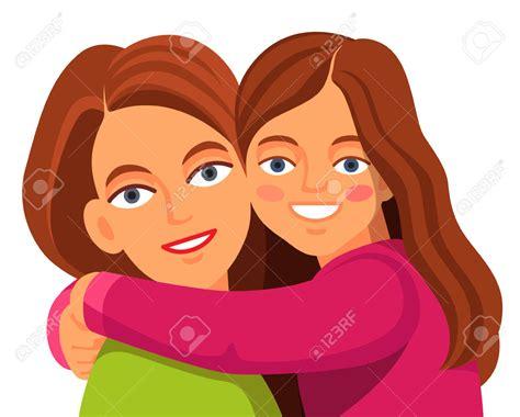 Hug Clipart Parent Daughter
