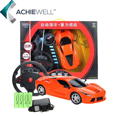 brand  gravity sensor steering wheel remote control car simulation rc car model  children