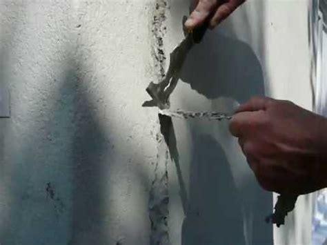 reparation de fissure de stucco enduit acrylique d 233 co romax inc
