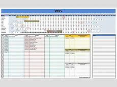 Microsoft Excel Calendar Template 2017 calendar template