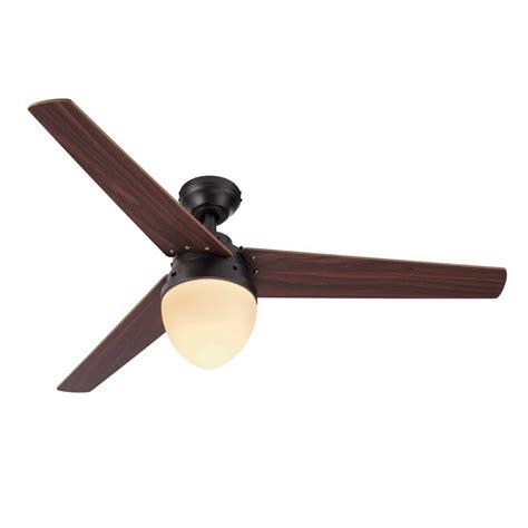 Harbor Ceiling Fan Remote Manual by Harbor 48 In Rubbed Bronze Indoor 3 Blade