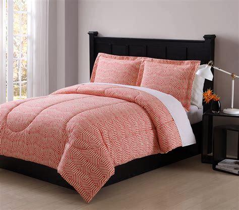 colormate coral ikat comforter set shop