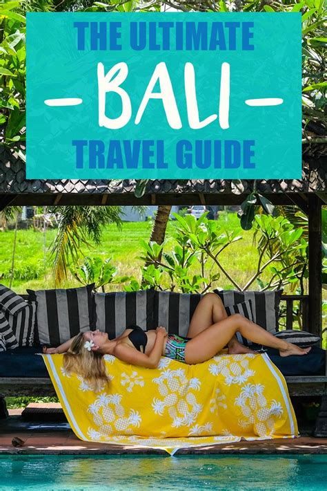 The Ultimate Bali Travel Guide • The Blonde Abroad