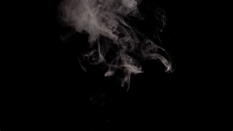 Black Background With Smoke Alpha Channel Png White Smoke On Black Background Stock