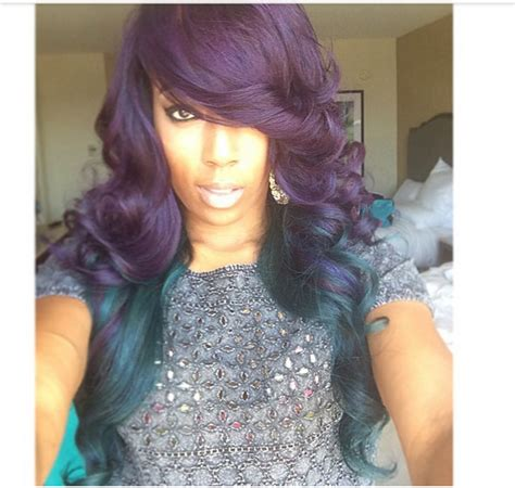 tinted hair styles 25 trendy black hairstyles for colors 8010