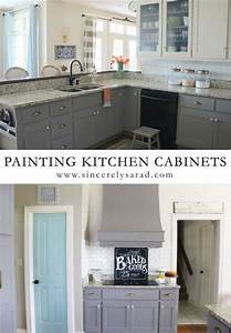 painted kitchen cabinets painting kitchen cabinets and With what kind of paint to use on kitchen cabinets for art collage wall