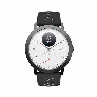 Steel Hr Sport Withings Smartwatch Hybrid Tracking