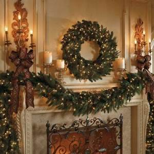 Frontgate greenery Holiday Decor