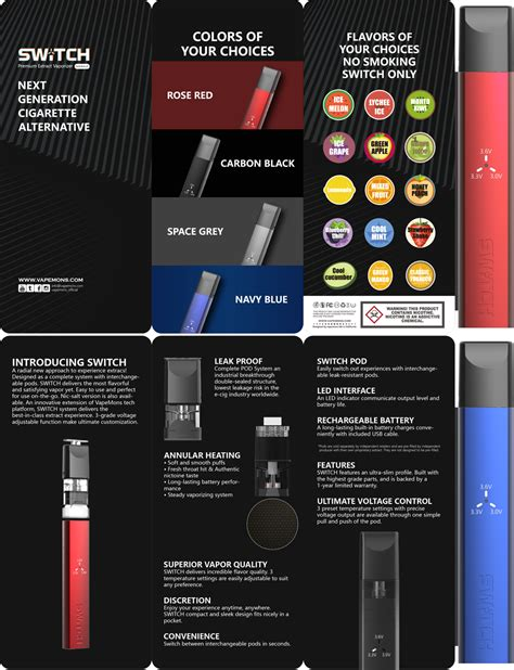 They're small square cartridges that contain a half gram of concentrate. VapeMons Switch premium extract vaporizer close system ...